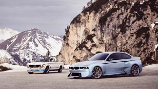 BMW 2002 Hommage turbo antiguo comparacion concept