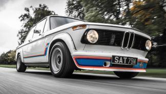 BMW 2002 Turbo, cambio dog leg