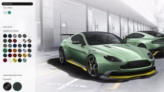Configurador Aston Martin Vantage GT8