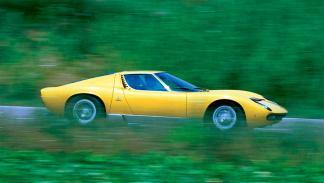 Lamborghini Miura lateral barrido