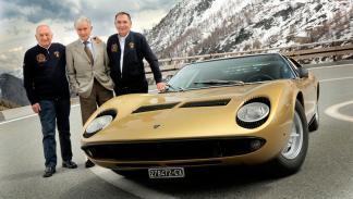 Lamborghini Miura padres Dallara Gandini Stanzani