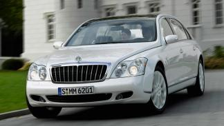 Maybach 62s Landaulet frontal lujo