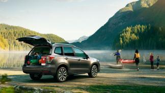Subaru Forester lago off-road todo terreno
