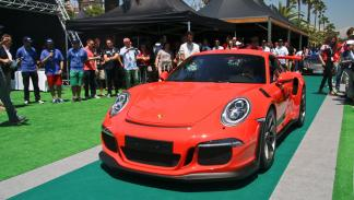 6to6 Barcelona Motordays Porsche 911 GT3 RS elegancia