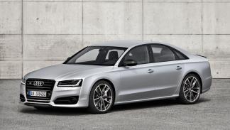 Audi S8 Plus lujo deportivo plata mate