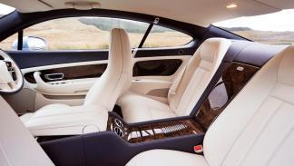 Bentley Continental GT habitaculo lujo super exclusivo