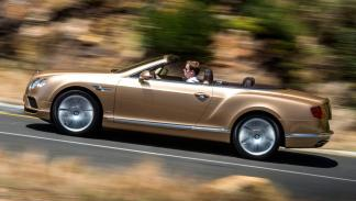 Bentley Continental GTC lateral lujo