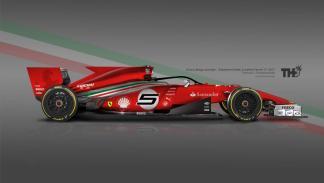 Los diseños de los F1 del futuro - Ferrari
