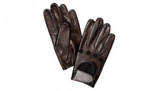 Morgan EV3 Selfridges guantes retro conducir