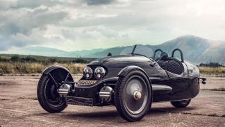 Morgan EV3 Selfridges lujo clásico deportivo eléctrico