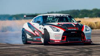 Nissan GT-R Drift record frontal