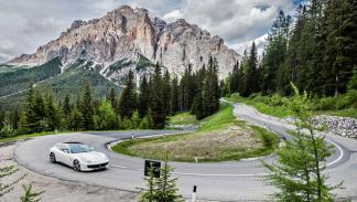 Prueba Ferrari GTC4Lusso curvas deportivo