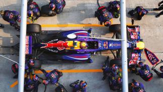 Récord motor Red Bull Fórmula 1 pit stop