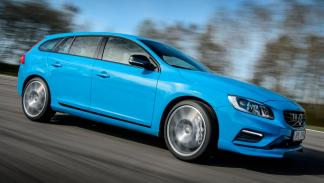 Volvo V60 Polestar lateral familiar deportivo