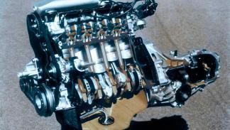 Audi cinco cilindros motor tecnología