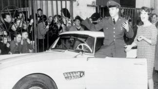 BMW 507 de Elvis