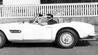 Un BMW 507 que condujo Elvis Presley en Alemania durante el servicio militar