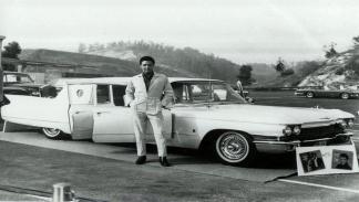 Los cochazos de Elvis Presley: Cadillac 75 Fleetwood Limousine