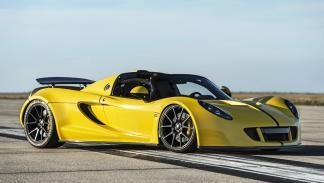 Hennessey Venom GT Spyder WRE: 1,2 millones de euros