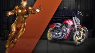 Iron Man - Harley-Davidson V-Rod Muscle