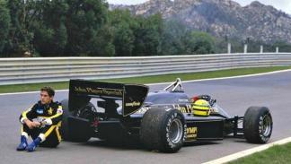 Lotus 97 T: Primera victoria de Senna