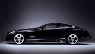 Maybach Exelero lateral coupe lujo