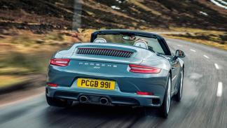 Porsche 911 Carrera Cabrio trasera lujo descapotable