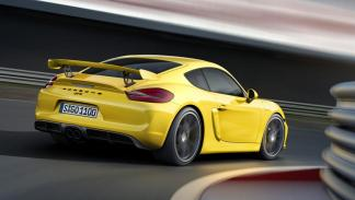 Porsche Cayman GT4 trasera deportivo racing radical