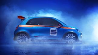 El prototipo Renault Twin´run parecía adelantar las líneas de una versión RS