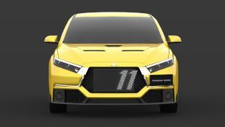 Render Mitsubishi Evo (II)