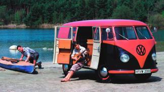 Volkswagen T1 bicolor camping