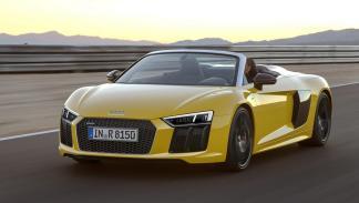 Aceleración - Audi R8 Spyder