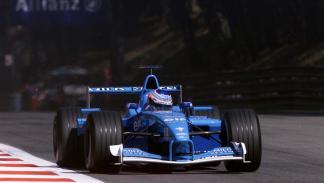El Benetton B201 de Button en la temporada 2001