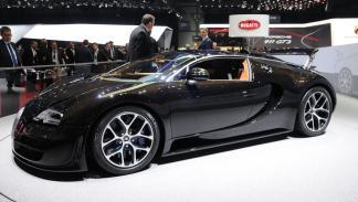 Los coches de Sylvester Stallone: Bugatti Veyron
