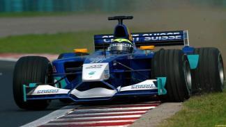 Felipe Massa debutó en la F1 en 2002 con la escudería Sauber