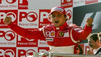 Felipe Massa logró su 1ª victoria en la F1 con Ferrari en Turquía 2006
