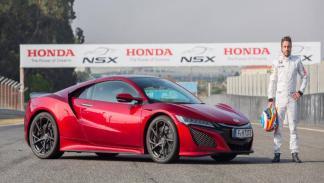 El Honda NSX: Un juguetito con el que ha disfrutado Fernando Alonso