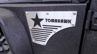 Jeep Wrangler 6x6 Tomahawk G. Patton seis ruedas off-road preparaciones brutal