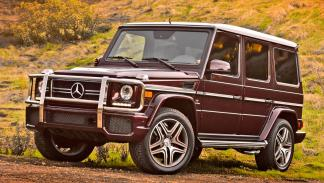 Mercedes G 63 AMG todo terreno lujo off-road