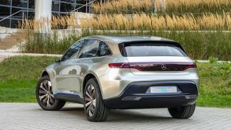 Mercedes Generation EQ SUV eléctrico coche vehículo todo terreno prototipo salón parís