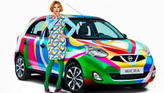 Nissan Micra Agata Ruiz de la Prada moda lujo único peculiar one-off utilitario ciudad