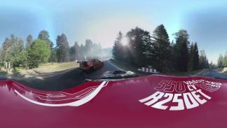 Vídeo de 360 grados de drift