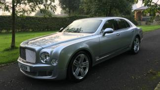 Bentley Mulsanne a subasta