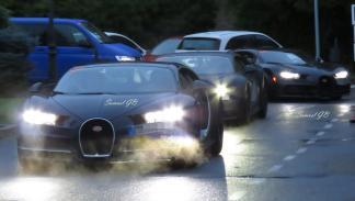 Bugatti Chiron España León pruebas superdeportivo deportivo hiperdeportivo camuflado test