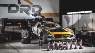 Dime Racing Mercedes SLS competición pirelli world tour