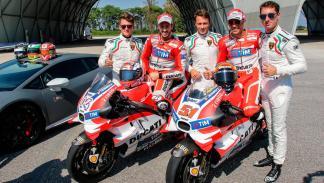 Ducati Lamborghini deportivos lujo passioni tricolore