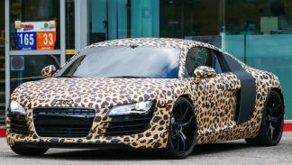 El Audi R8 Leopardo de Justin Bieber