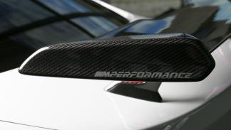 BMW M3 SEMA Show M Performance alerón escape fibra de carbono alcantara