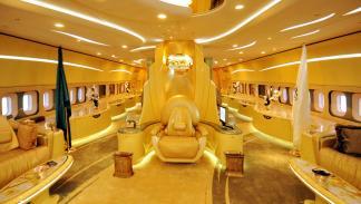 El Boeing 747 del príncipe Al-Waleed bin Talal: 203 millones de euros