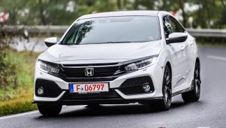 Honda Civic Hatchback 2017: las fotos